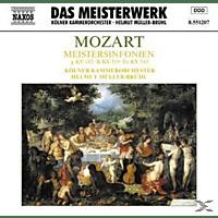 VARIOUS, Helmut/kölner Kammerorchester Müller-brühl - Meistersinfonien KV 183/319/543 [CD]