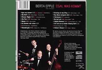 Berta Epple And Friends - Egal Was Kommt  - (CD)