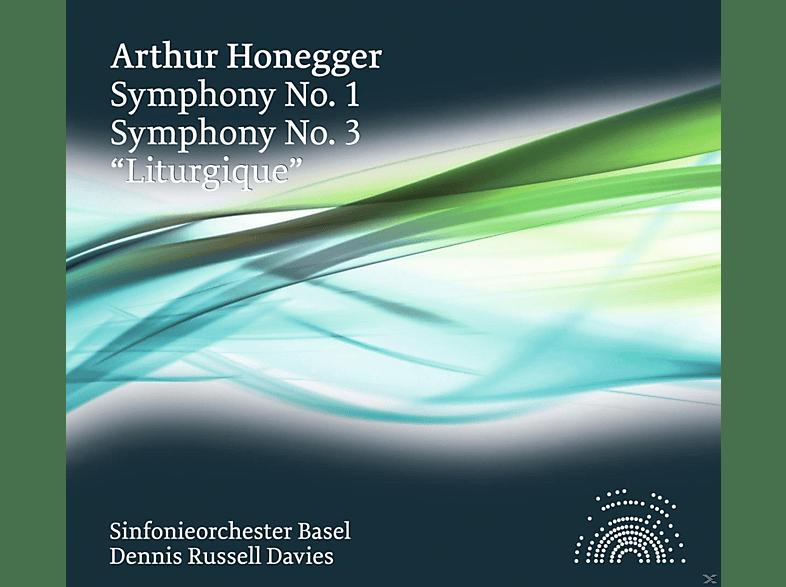 Sinfonieorchester Basel - Sinfonien 3+1 [CD]