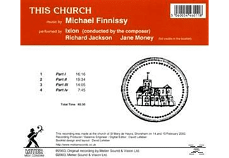 Ixion, Ixion/Finnissy/jackson/Money - This Church  - (CD)