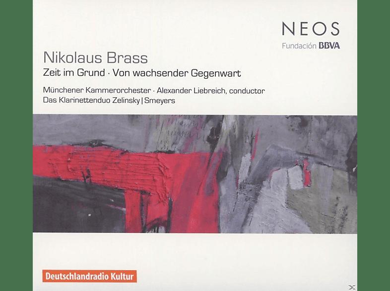 Münchener Kammerorchester, Das Klarinettenduo Zelinsky und Smeyers - Zeit im Grund / Von wachsender Gegenwart [CD]
