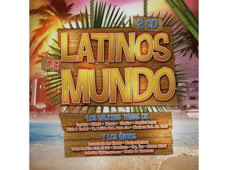 VARIOUS - Latinos Del Mundo [CD]