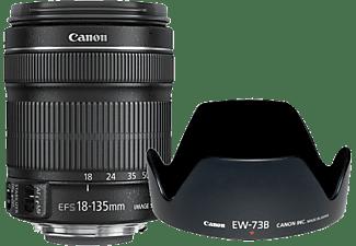 CANON Objektiv EF-S 18-135mm f/3.5-5.6 IS + EW73B + LC Kit