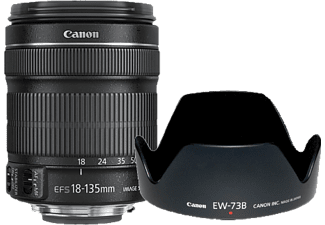 CANON Objektiv EF-S 18-135mm f/3.5-5.6 IS + EW73B + LC Kit