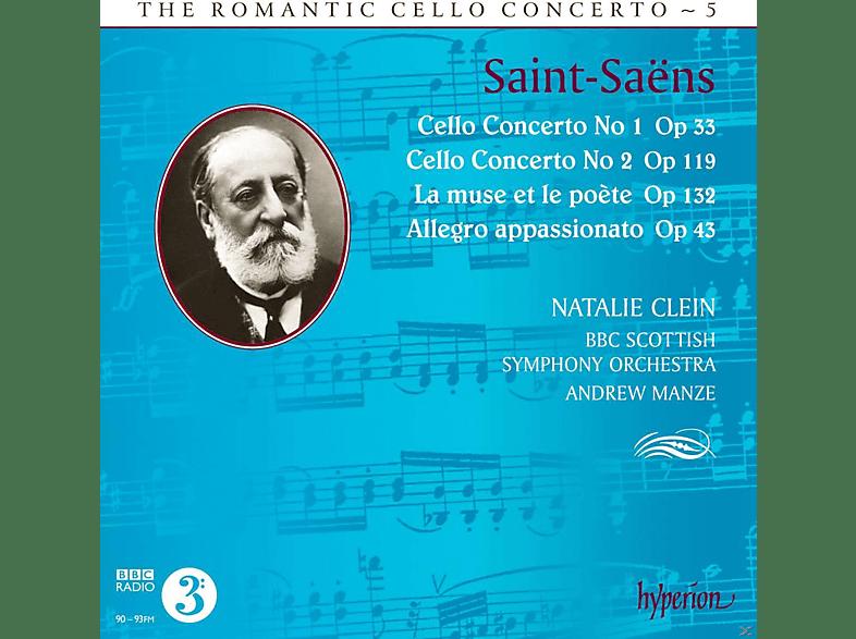 Natalie Clein, Bbc Scottish Symphony Orchestra - The Romantic Cello Concerto 5 [CD]