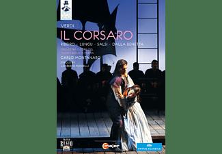 Irina Lungu, Bruno Ribeiro, Luca Salsi, Silvia Dalla Benetta, Orchestra E Coro Del Teatro Regio Di Parma - Il Corsaro  - (DVD)
