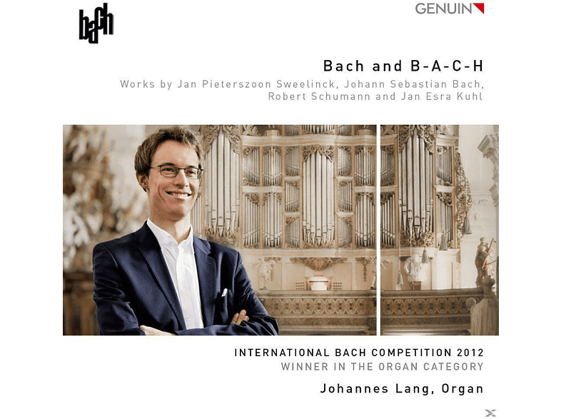 Johannes Lang - Bach And B-A-C-H [CD]