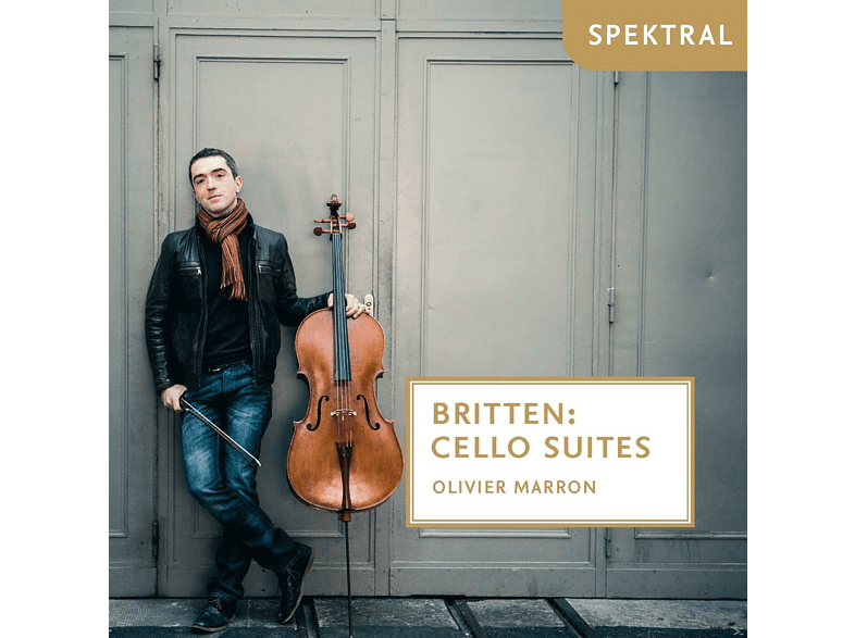 Olivier Marron - Cello Suites [CD]
