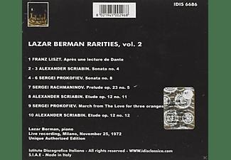 Berman Lazar - Berman-Raritäten vol.2  - (CD)