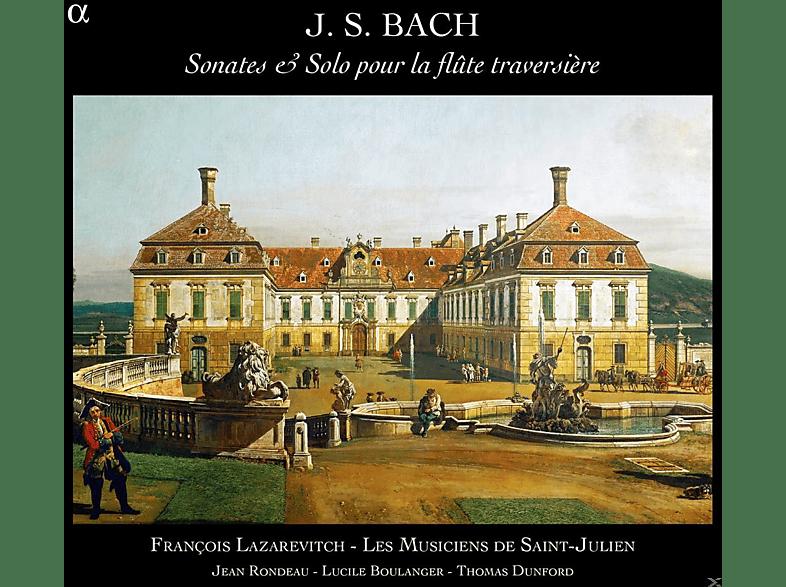 Jean Rondeau, Lazarevitch Francois, Thomas Dunford - Sonates & Solo Pour La Flûte Traversière [CD]