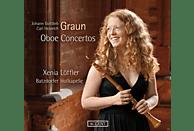 Batzdorfer Hofkapelle, Löffler Xenia - Graun: Oboen-Konzerte [CD]
