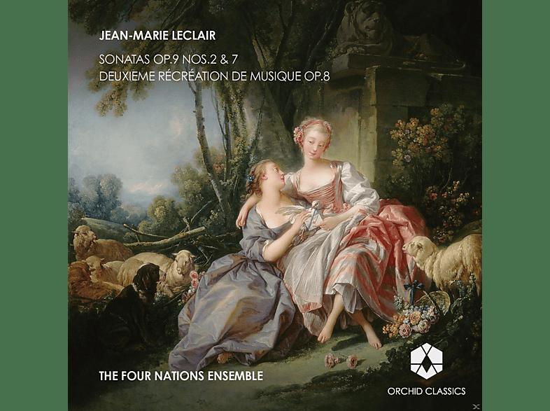 Four Nations Ensemble - Sonatas Op.9 Nos.2 &7 / Deuxieme recreation de musique Op.8 [CD]