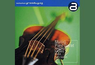 The Martinu Piano Quartet - Klavierquartette  - (CD)