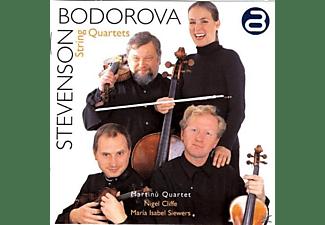 Nigel Cliffe, Martinu Quartet, Maria Isabel Siewers - Werke Mit Streichquartett  - (CD)