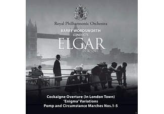 Royal Philharmonic Orchestra - Barry Wordsworth Conducts Elgar - (CD)