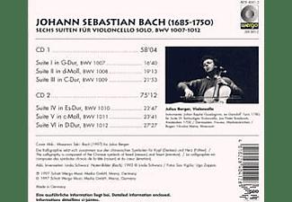 Berger Julius - Sämtliche Cellosuiten BWV 1007-1012 (GA)  - (CD)