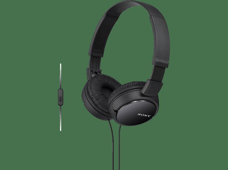 SONY MDR-ZX110APB, On-ear Kopfhörer  Schwarz