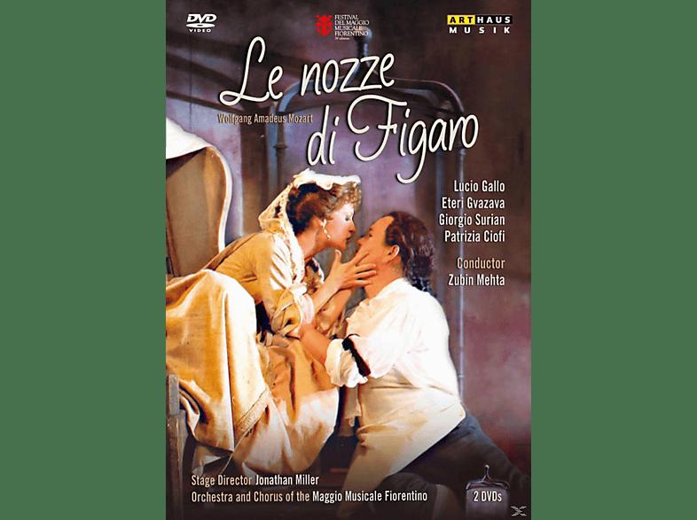 VARIOUS, Orchestra & Chorus Of The Maggio Musicale Fiorentino - Le Nozze Di Figaro [DVD]