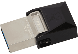 Pendrive de 32 Gb - Kingston DataTraveler microDuo 3.0, memoria USB OTG