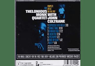 John Coltrane, Thelonious Quartet Monk - Complete Live At The Five Spot  - (CD)