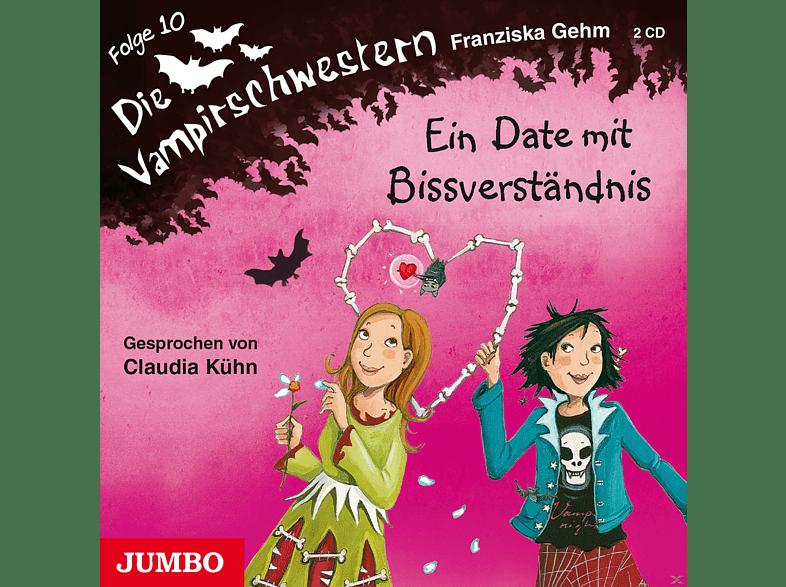 Franziska Gehm - Die Vampirschwestern 10: Ein Date mit Bissverständnis - (CD)