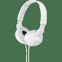 SONY MDR-ZX110, On-ear Kopfhörer  Weiß