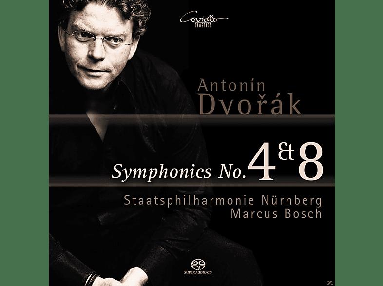 Staatsphilharmonie Nürnberg - Sinfonien 4 & 8 [SACD Hybrid]