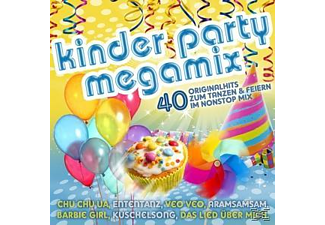 DJ Ötzi, Tanzalarmkids, Ottawan, Hot Banditoz, VARIOUS, Die Schluempfe, Klaxons - Kinder Party Megamix  - (CD)
