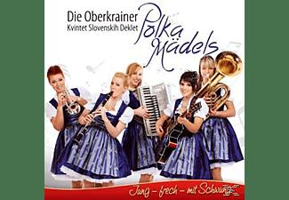Die Oberkrainer Polka Mädels - Jung,frech,mit Schwung  - (CD)