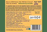 """Willi Boskovsky Ensemble - Dances Of Old Vienna - The """"Old Year's Concert"""" (Tänze Aus Alt-Wien) [CD]"""