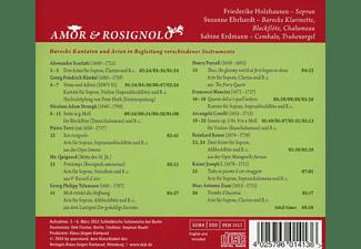 Friederike Holzhausen, Sabine Erdmann, Susanne Ehrhardt - Amor & Rosignolo  - (CD)