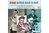 VARIOUS - Great British Rock'n'roll Vol.2-Just About As Good As It Get [CD]