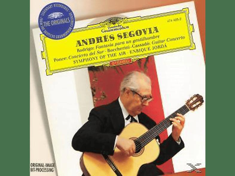 Andrés Segovia - Andres Segovia Plays [CD]