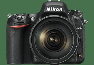 NIKON D750 Spiegelreflexkamera mit Objektiv AF-S VR 24-120mm f4.0G ED