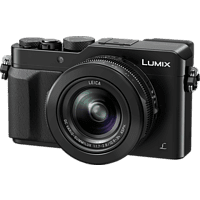 PANASONIC Lumix DMC-LX100 LEICA Digitalkamera Schwarz, 12.8 Megapixel, 3.1x opt. Zoom, LCD, WLAN