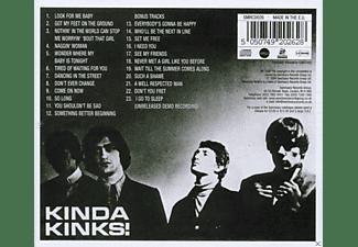 The Kinks - Kinda Kinks  - (CD)