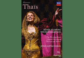 Renée Fleming, Thomas Hampson, Metropolitan Opera Orchestra, Chorus & Ballet - Massenet: Thais  - (DVD)