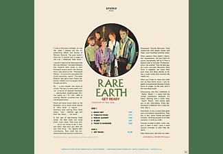 Rare Earth - GET READY - LTD VINYL REPLICA  - (CD)