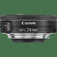 CANON EF-S 24mm 1:2,8 STM - 24 mm f/2.8 EF-S (Objektiv für Canon EF-Mount, Schwarz)