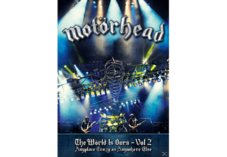 Motörhead - THE WÖRLD IS OURS 2 ANYPLACE CRAZY AS ANYWHERE  - (DVD)