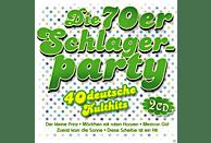 VARIOUS - Die 70er Schlagerparty-40 Deutsche Kulthits [CD]