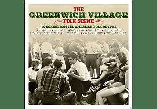 VARIOUS - The Greenwich Village Folk Scene  - (CD)