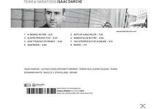 Isaac Darche - Team and Variations  - (CD)