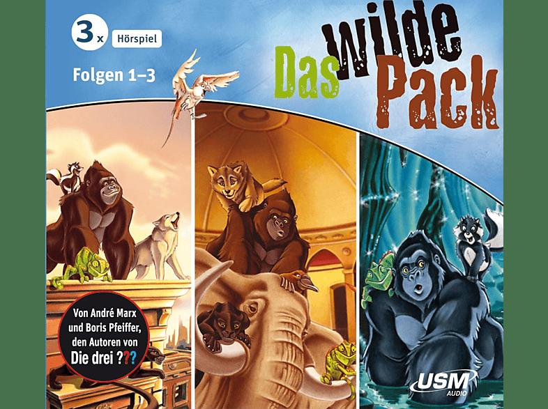 Das Wilde Pack - Das wilde Pack Hörbox Folgen 1-3 - (CD)