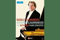 Rudolf Buchbinder, Die Wiener Philharmonik - Klavierkonzerte 1-5 [DVD]