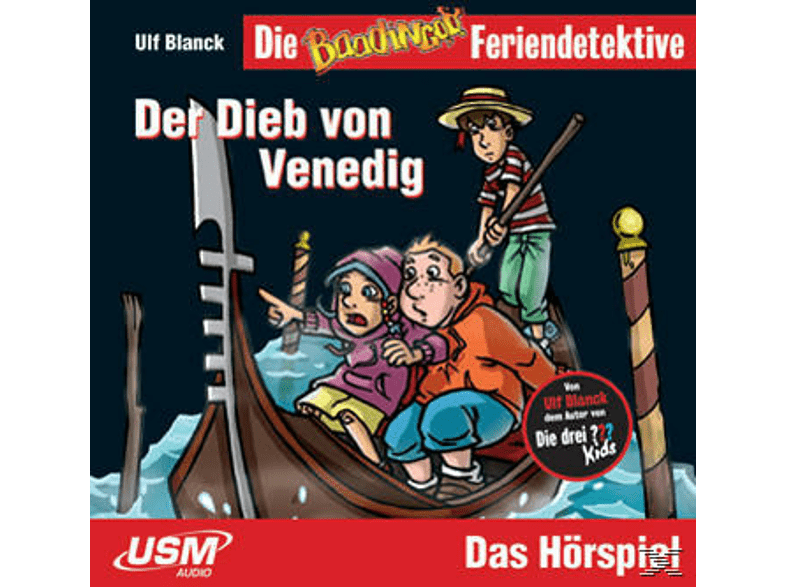 Die Baadingoo Feriendetektive - Der Dieb von Venedig - (CD)
