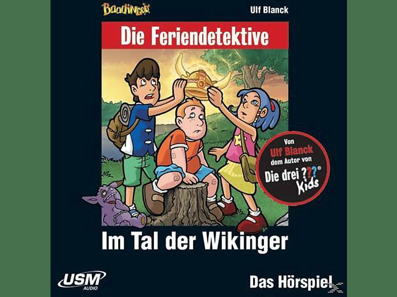 Die Feriendetektive - Im Tal der Wikinger - (CD)