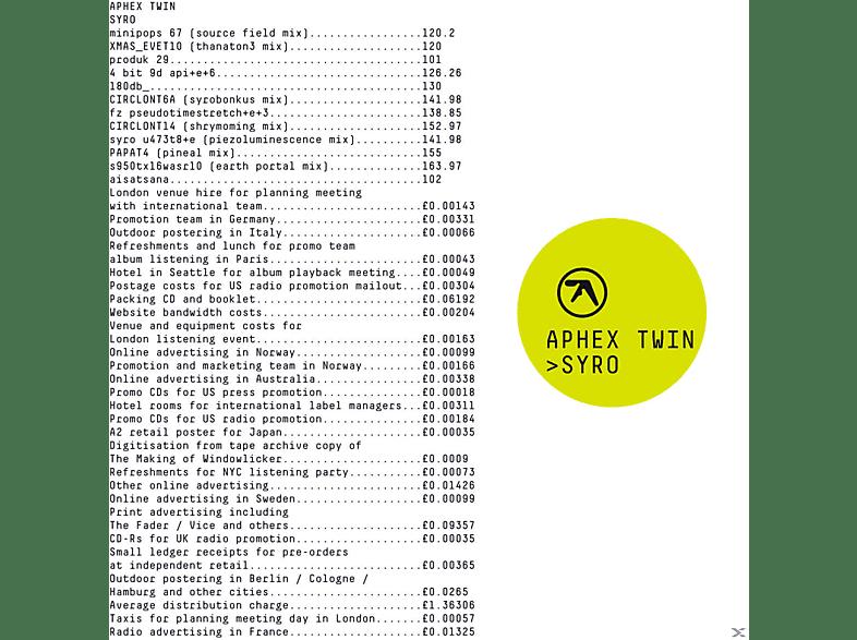 Aphex Twin - Syro [CD]