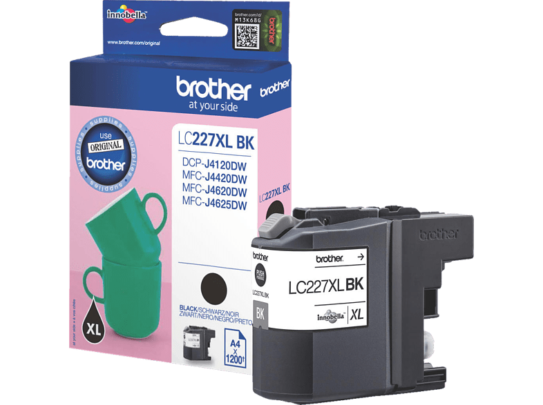 BROTHER LC227XLBK Zwart