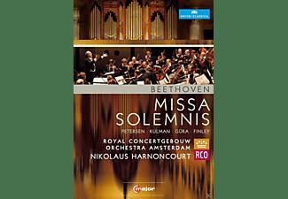 Marlis Petersen, Elisabeth Kulman, Werner Gura, Gerald Finley, Royal Concertgebouw Orchestra, Amsterdam,The - Missa Solemnis  - (DVD)